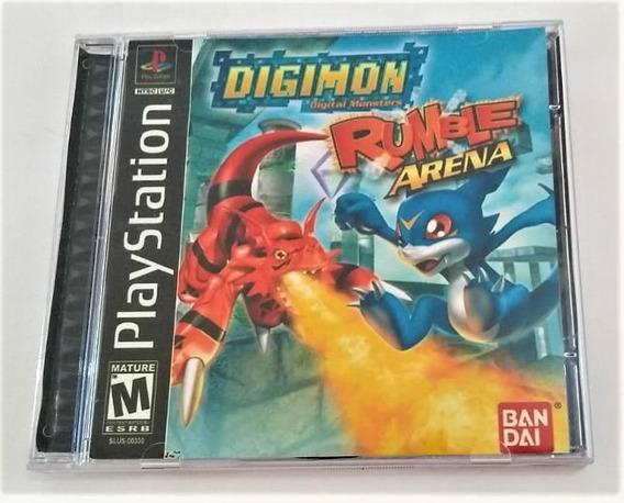 Digimon Rumble Arena Original Ps1 Cr $15