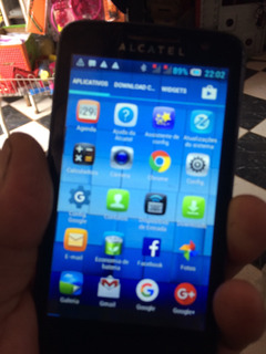 Celular Alcatel M-pop Ot5020d Leia Todo Anúncio Com Atenção
