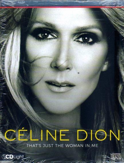 Celine Dion Thats Just The Woman Woman Cd Light Novo Lacrado
