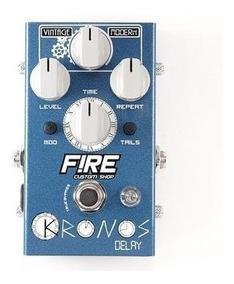 Pedal Fire Custom Shop Kronos Delay+brindes Nfe