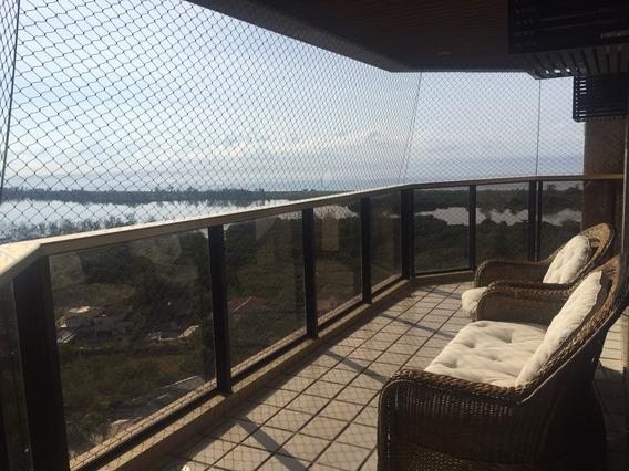 Apartamento 3 Quartos Vista Eterna Para Lagoa E Mar