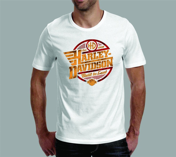 Camiseta Harley Davidson 2 - Branca