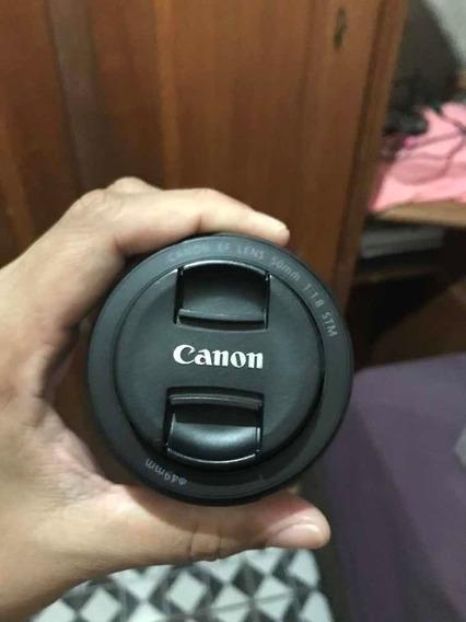 Lente Canon 50 Mm F1.8 Stm