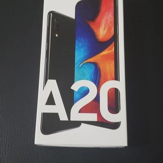Samsung Galaxy A20 32gb Preto 4g-3gb Ram 6,4 Câm. Dupla +