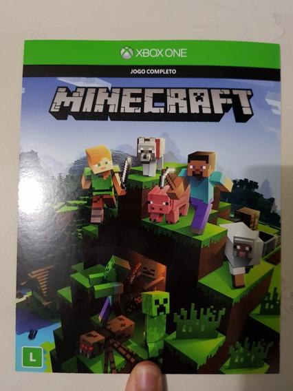 Minecraft Xbox One - Código De Jogo 25 Dígitos Envio Na Hora