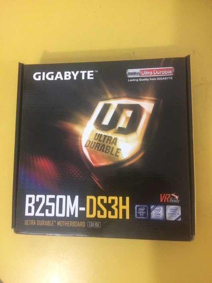 Placa Mãe B250m Ds3h Lga 1151 (6ª E 7ª Ger. Intel) I3 I5 I7
