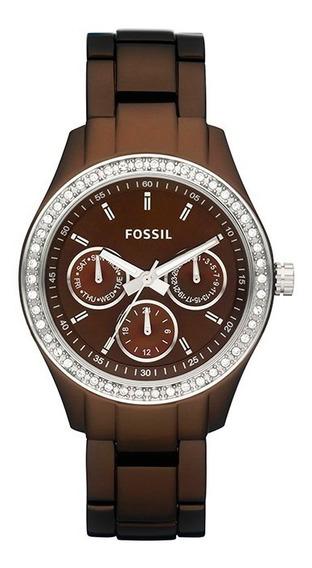 Reloj Fossil Es2949 Para Mujer Ext De Acero