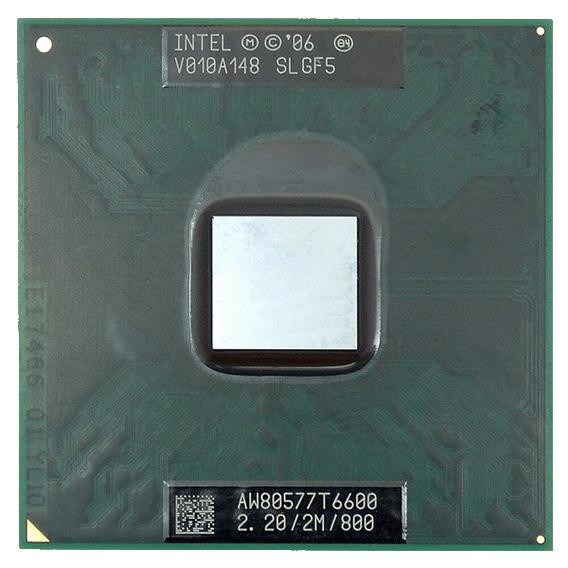 Processador 2.2ghz Intel Core 2 Duo 2m 800mhz Slgf5 W7415 T6
