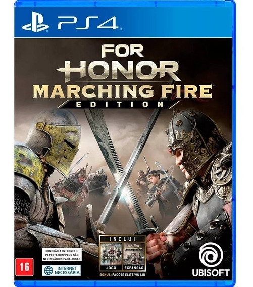 For Honor Marching Fire Edition Ps4 Novo Mídia Física 666
