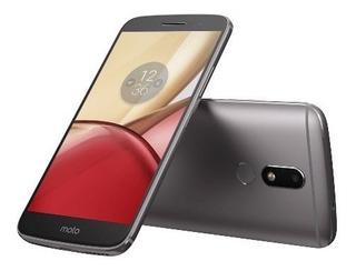 Celular Motorola Moto M 32gb/4gb Dual Cinza + Nf