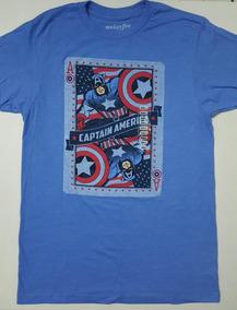 Marvel Capitan America Playera Original