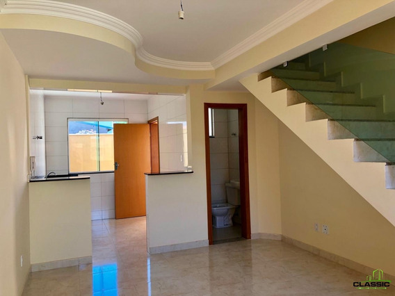 Casa Geminada Com 2 Quartos Para Comprar No Parque Leblon Em Belo Horizonte/mg - 2523