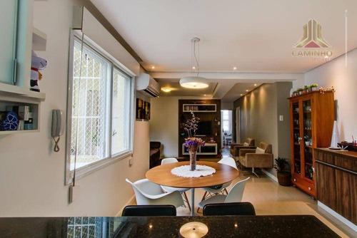 Imagem 1 de 14 de Vendo Apartamento Térreo De Três Dormitórios No Bairro Petrópolis Em Porto Alegre - Ap3108