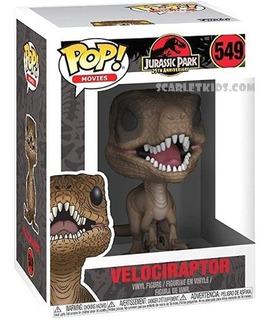 Funko Pop Jurassic Park Velociraptor 549 Original Scarlet