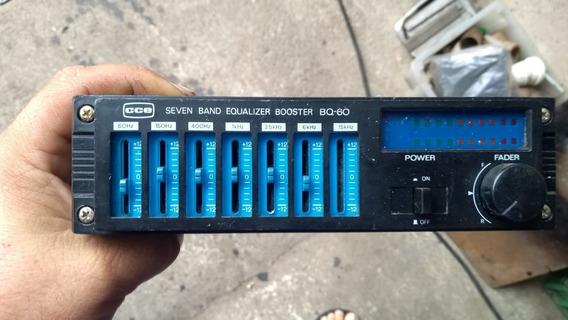 Equalizador Cce Bq-60 Vintage