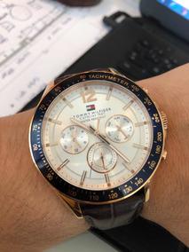 Relógio Tommy Hilfiger Couro - Seminovo
