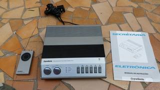 Secretaria Eletrônica Gradiente Processador Mx-1 Anos 80