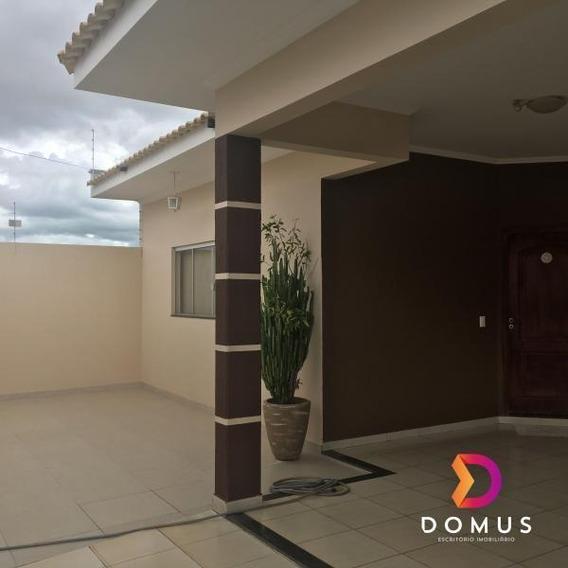 Casa Para Venda Em Presidente Prudente, Parque Residencial São Lucas, 3 Dormitórios, 1 Suíte, 3 Banheiros, 2 Vagas - _2-1025481