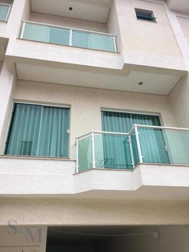 Imagem 1 de 25 de Sobrado Com 3 Dormitórios À Venda Por R$ 667.800 - Jardim Paraíso - Santo André/sp - So0208
