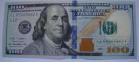 Cédula Nota Cem (100) Dólares Americanos Fe Pague Até 12 X