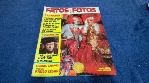 Fatos E Fotos 654 Mar/74 Jimi Hendrix/lima Duarte/liza Minel