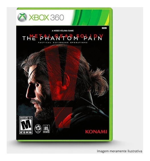 Metal Gear Solid V The Phantom Pain - Novo Original Xbox 360