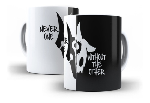Caneca League Of Legends Kindred Never One Witout The Other