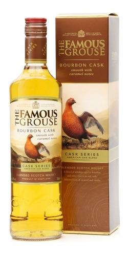 Whisky The Famous Grouse Bourbon Cask De Litro Con Estuche