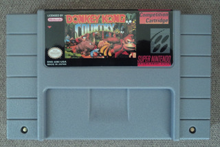 Donkey Kong Country Competition Cartridge Snes