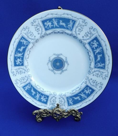 Plato Decorativo Con Cupidos En Porcelana Inglesa Coalport