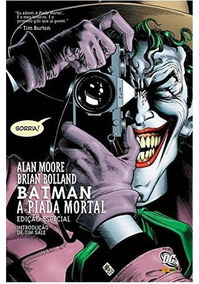 Batman A Piada Mortal Volume 1 Dc Comics Português Capa Dura