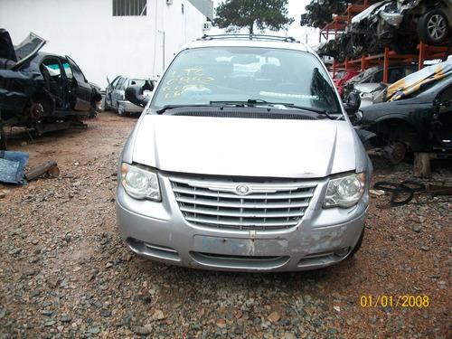 Sucata Chrysler Gran Caravan Ltd 2005 Peças Motor Cambio