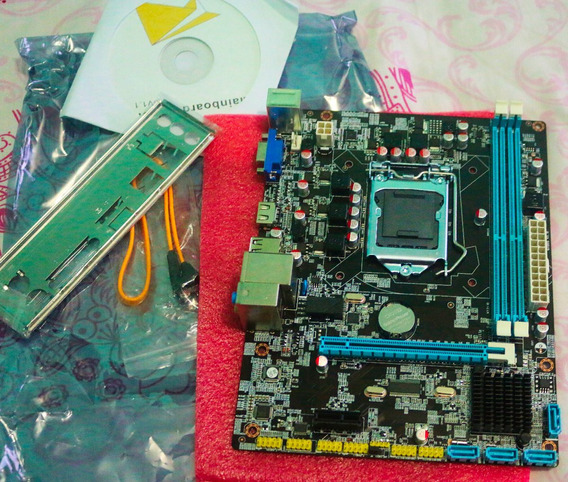 Placa Mãe 1156 P/ I3 I5 E I7 Suporta 16gb Ddr3 1600 Mhz
