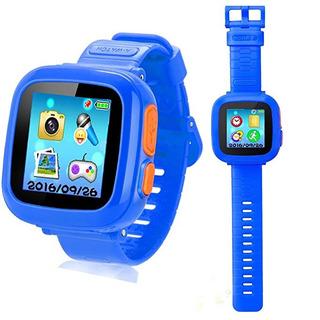 Reloj Inteligente + Juegos Chicos + Cámara Digital Y Pantall