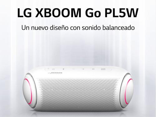 Parlante LG Xboom Go Pl5w Bluetooth Tecnología Meridian