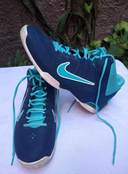 Zapatillas Nike Hombre Air Visi Pro 4 Talle 44 Basquet