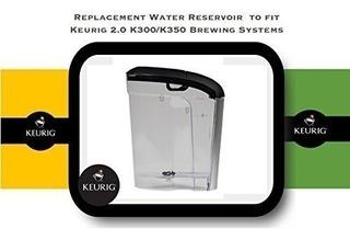 Depósito Agua Reemplazo Para Keurig 2.0 K300 Y K350 - 60 Oz.