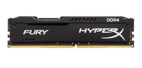 Memória Kingston Ddr4 8gb 2400 Mhz Hyperx Fury Original