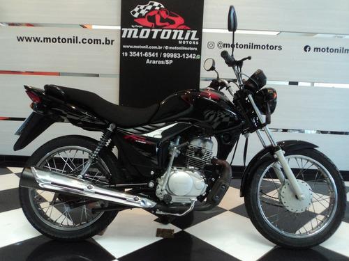 Honda Cg125 Fan Ks Preta 2012