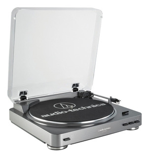 Audio Technica Lp60 Usb Bandeja Dj Grabadora Vinilo A Disco