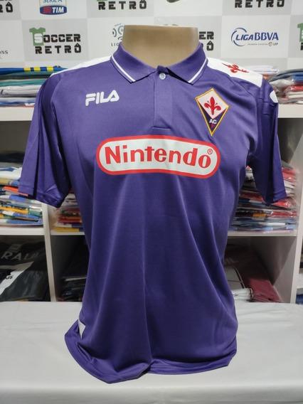 Camisa Fiorentina 1998-99 Batistuta 9 Seria A
