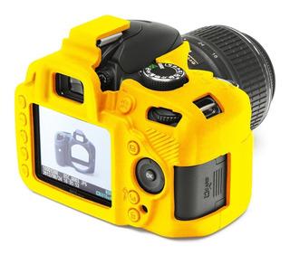 Funda Estuche Case De Silicon Camara Nikon D7100 D3300 Etc