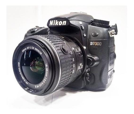 Câmera Nikon D7000 16,2 Mp Vídeo Full Hd - Kit Lente 18-55mm