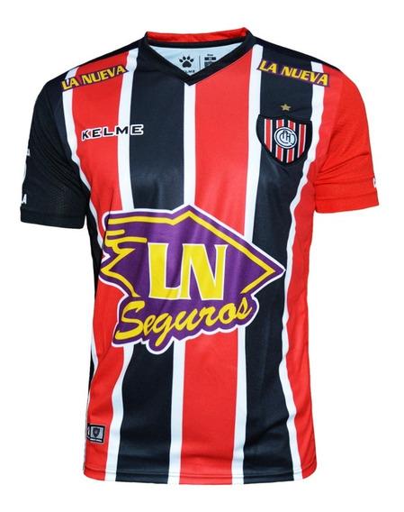 Camiseta Chacarita Juniors Kelme Publicidad 2019 Original