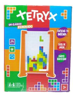 Juego De Mesa Ingenio Xetryx Tetris Renovado Con Dado Jyj