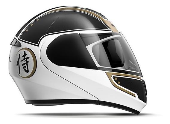 Capacete Honda Original Hms 58 Samurai Branco