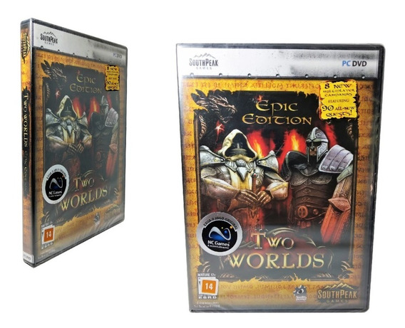 Jogo Two Worlds Epic Edition Pc Game Dvd Computador Ação Rpg
