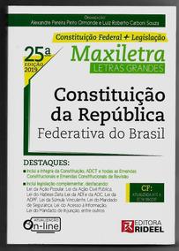 Constituição Federal 2019 Maxiletra