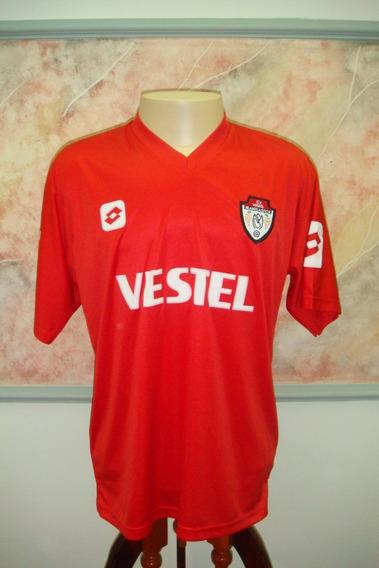 Camisa Futebol Manisaspor Tuquia Lotto Jogo Antiga 1214