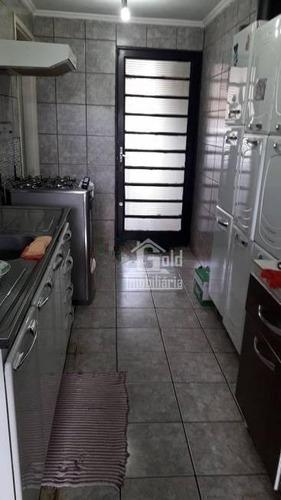 Imagem 1 de 16 de Casa Com 3 Dormitórios À Venda, 135 M² Por R$ 330.000 - Vila Tamandaré - Ribeirão Preto/sp - Ca1678